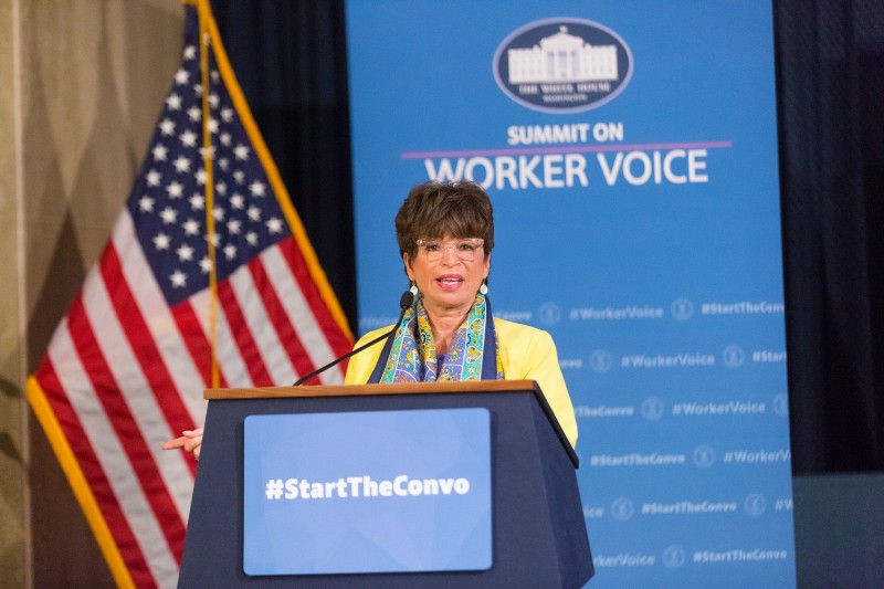 Valerie Jarrett — ending the day with purpose